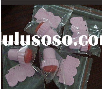 nail art stamp and srapper set