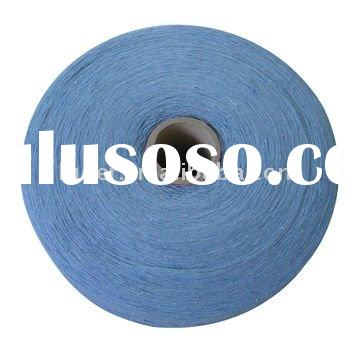open end recycled cotton mop color yarn