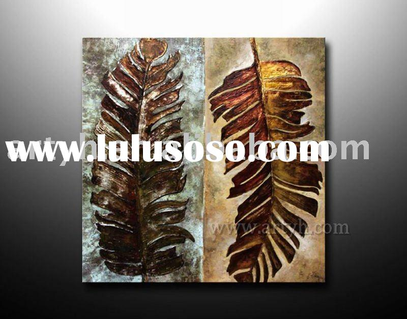 original handmade modern abstract oil painting on canvas for decor