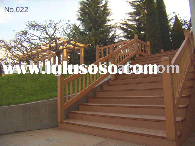 outdoor handrail (wood -plastic material)