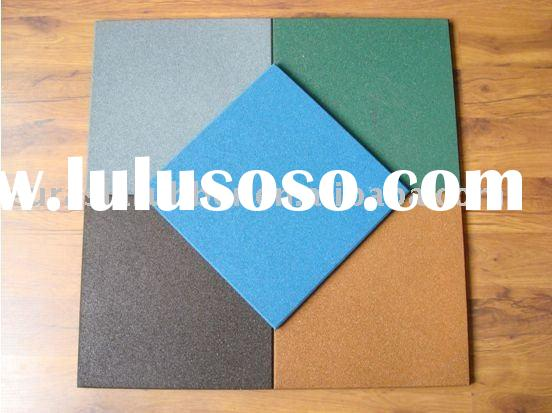 Outdoor Safety Sports Rubber Flooring Mats Sheets Tiles