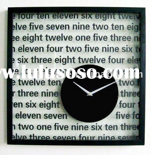 paper clock & handmade oil painting & oil painting reproduction & canvas printings