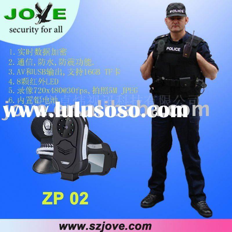 police dvr camera with gps tracking fnction