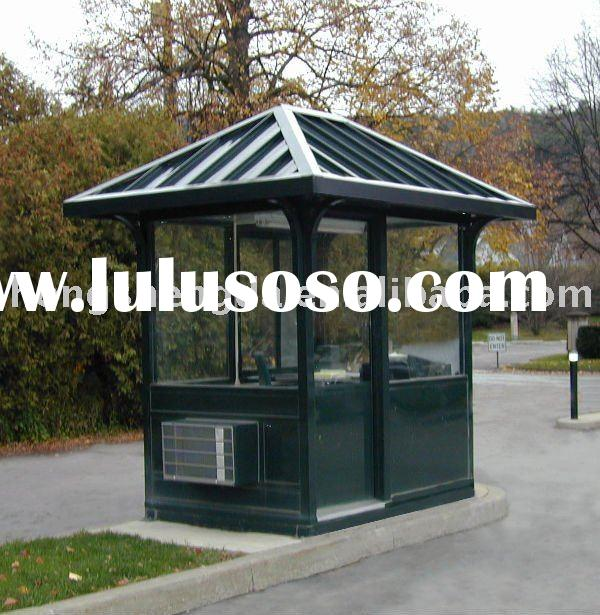 prefabricated low price steel structure Kiosks/houses/homes