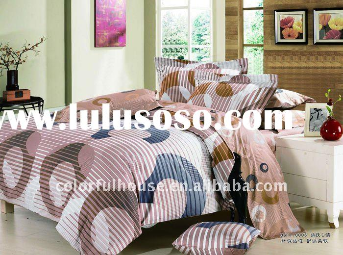 printed bedding set/sheet sets/bedding fabric