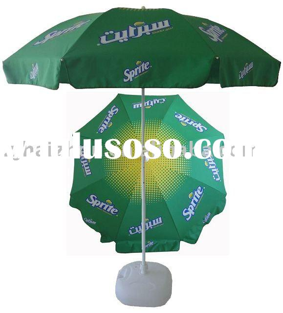 printing beach umbrella for promotional ( for advertising)