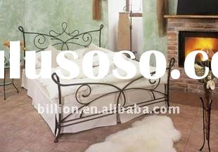 queen size wrought iron beds manufacture china