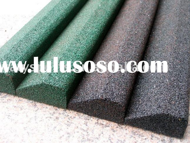recycled rubber block using in artificial grass