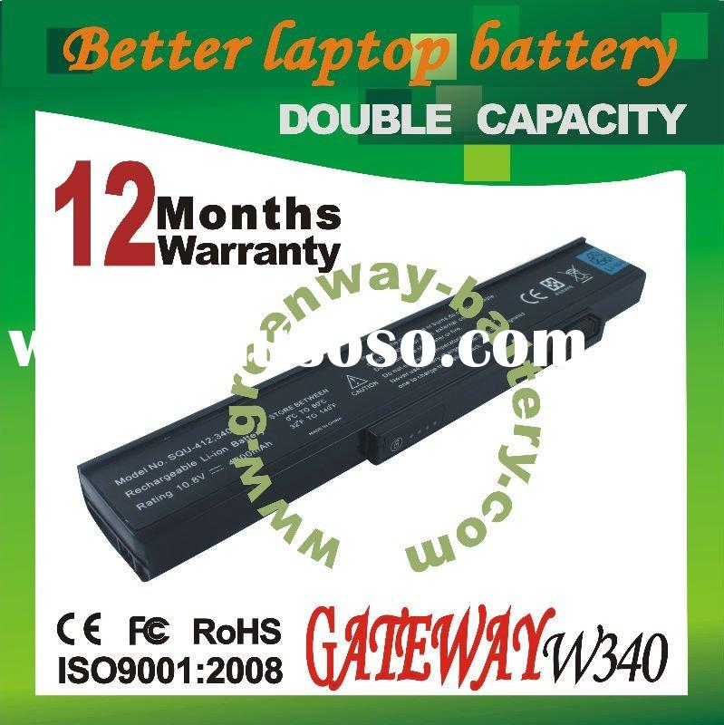replacement laptop battery (GATEWAY W340 10.8V 4800mAh)