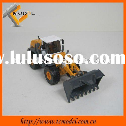 scale model car construction machinery