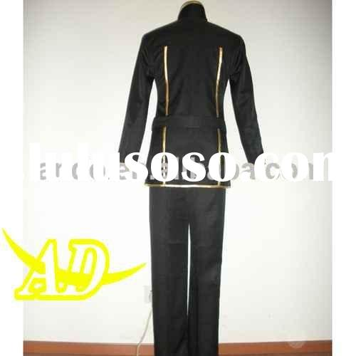 school uniform cosplay costume for Lelouch Lamperouge back