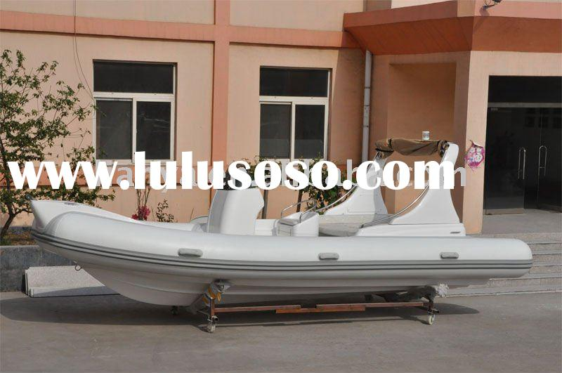 semi rigid inflatable boat 6.2m motor boat rib boat