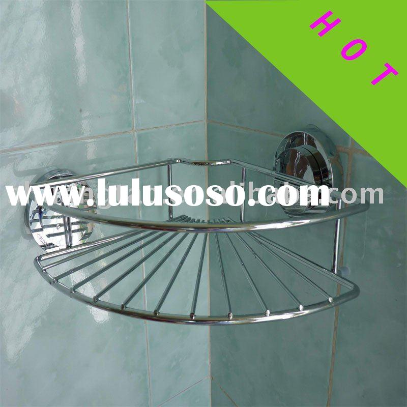 single bathroom shelf stainless steel bath rack bathroom storage holder