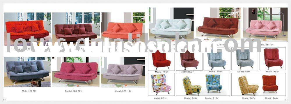 sofa beds cheap sale of faced flocking material