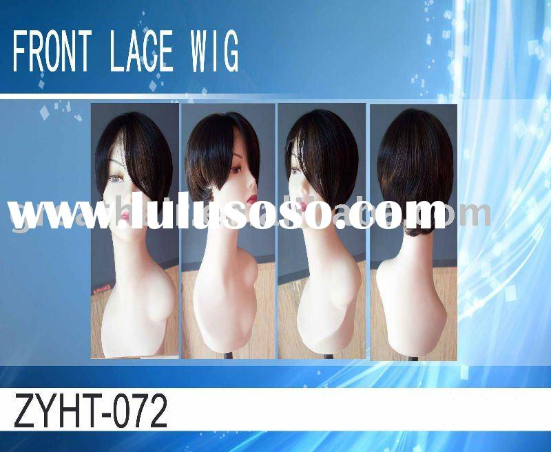 synthetic front lace wig
