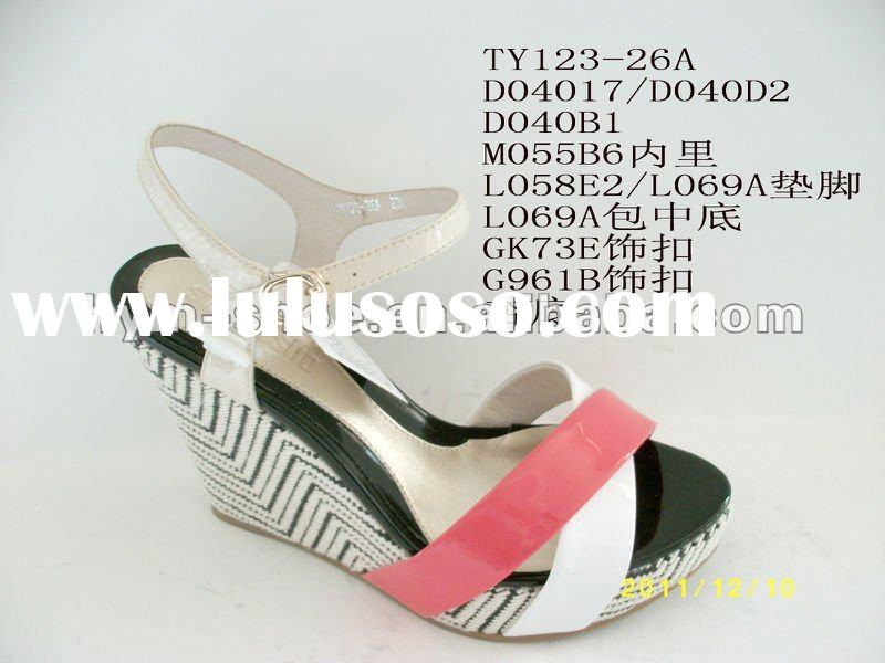 thai new design women shoes sandal 2012