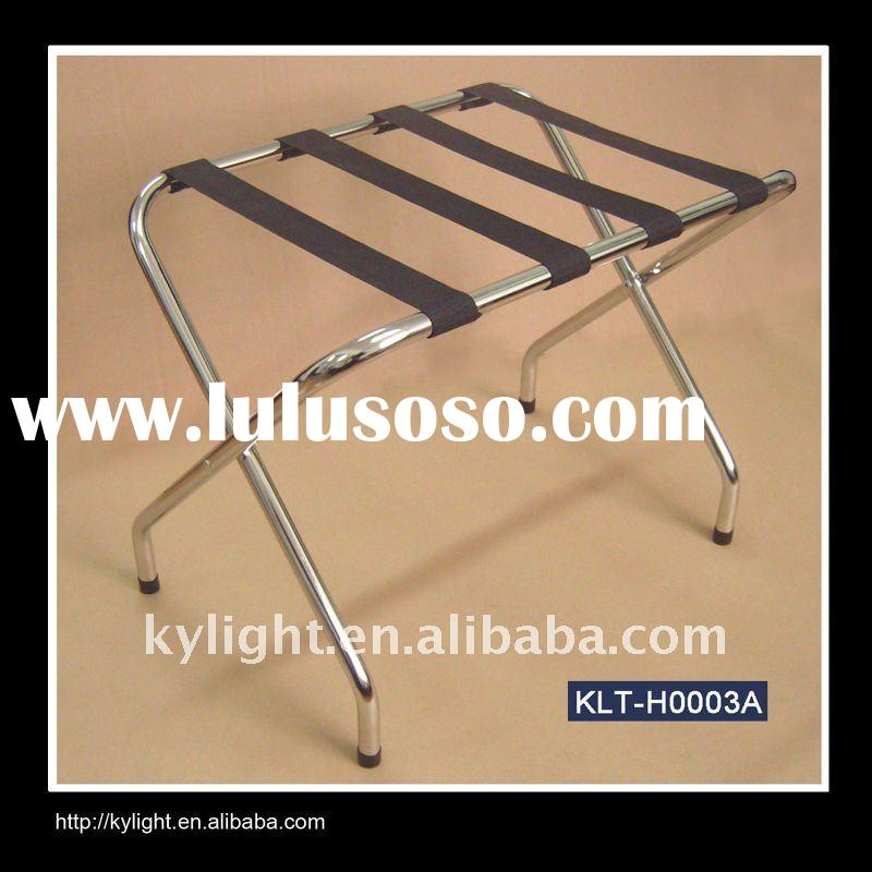 the bestselling hotel stainless steel folding luggage rack