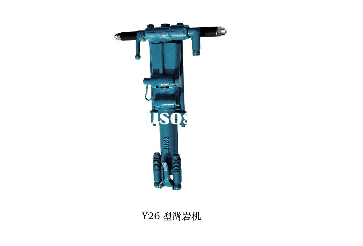 unmounted rock drill,hand drill,jack hammer drill Y26