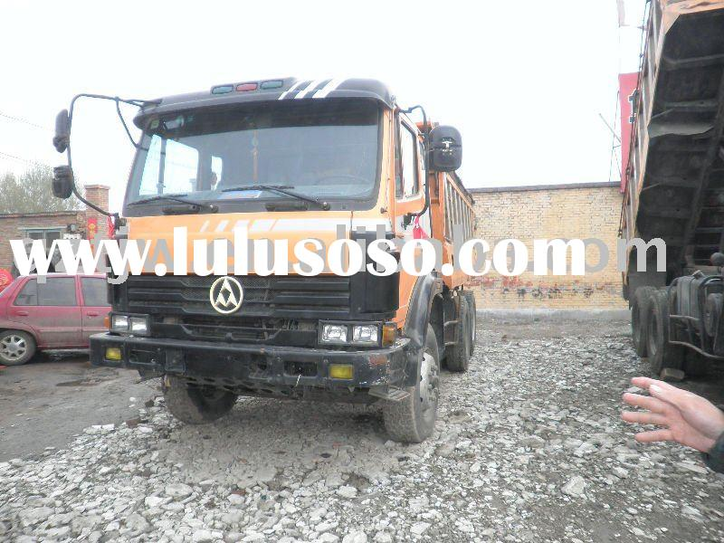 used ssangyong dump truck