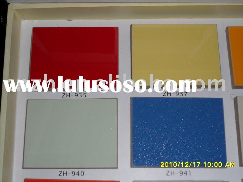 uv coated mdf door panel for kitchen cabinet