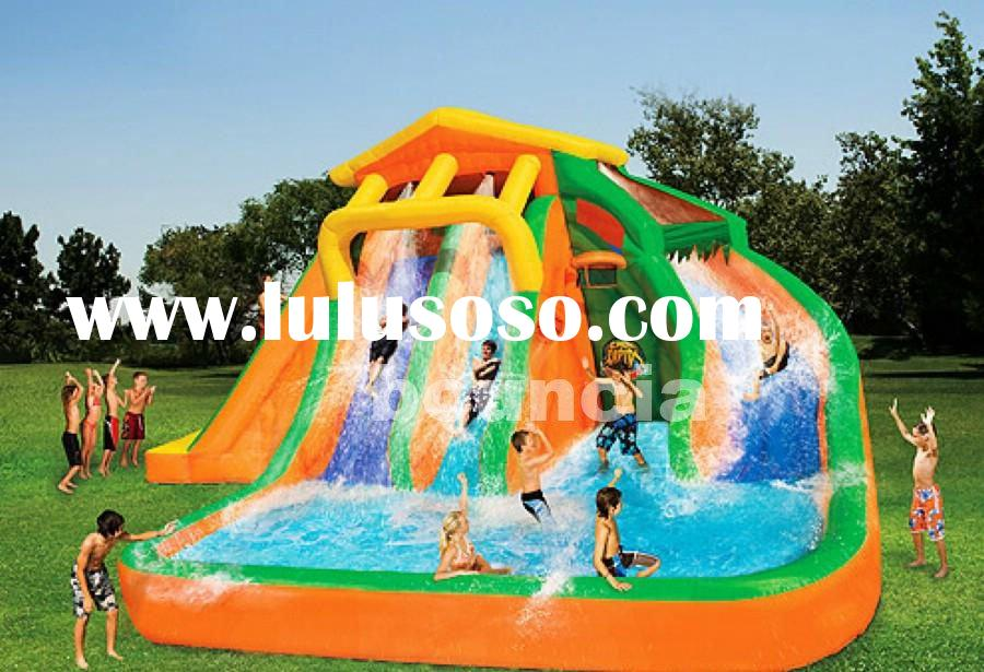 water inflatables, inflatable water slide, inflatable pool slide