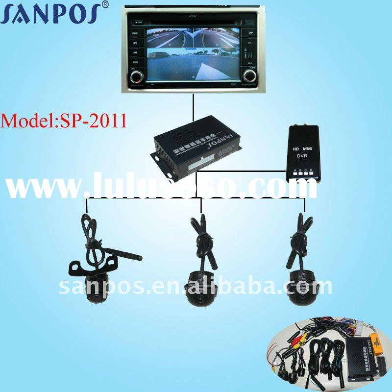 waterproof and night vision car kit camera with car dvr for car security system SP-2011