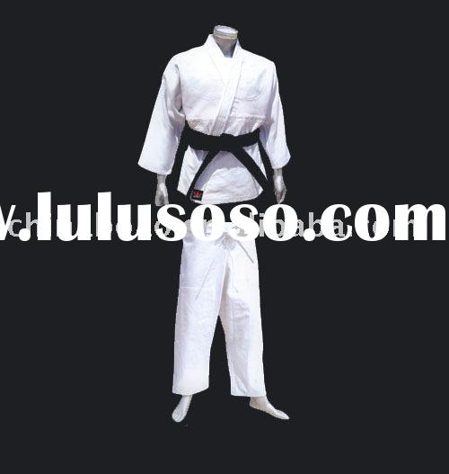white judo uniform