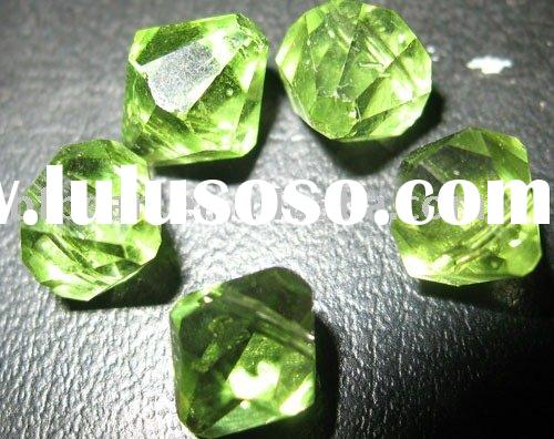 wholesale Loose Gemstone,green crystal beads