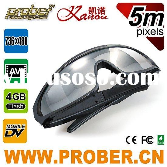 wireless camera glasses/surveillance/cctv camera/video glasses 4gb