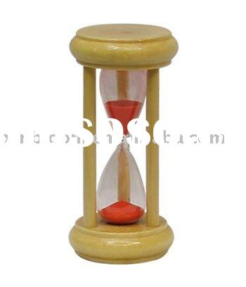 wooden sand timer,Sand clock, wooden sand hourglass