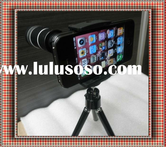 10X Zoom Lens for iPhone 4 4G 4S for Christmas Gift