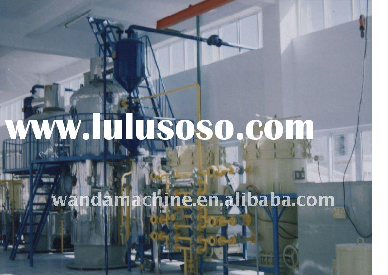10-100Ton/day cotton seeds /palm oil refinery equipment