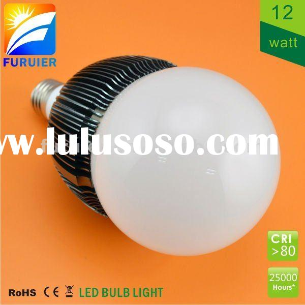 12W high power LED bulb light