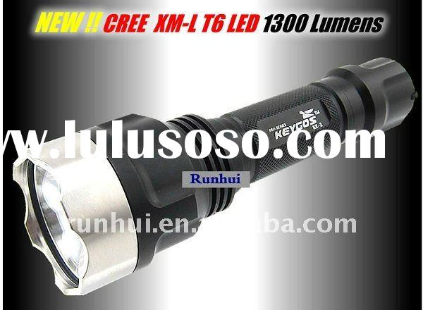 1300 Lumen Flashlight CREE XMLT6 LED Lampe Torche KE2