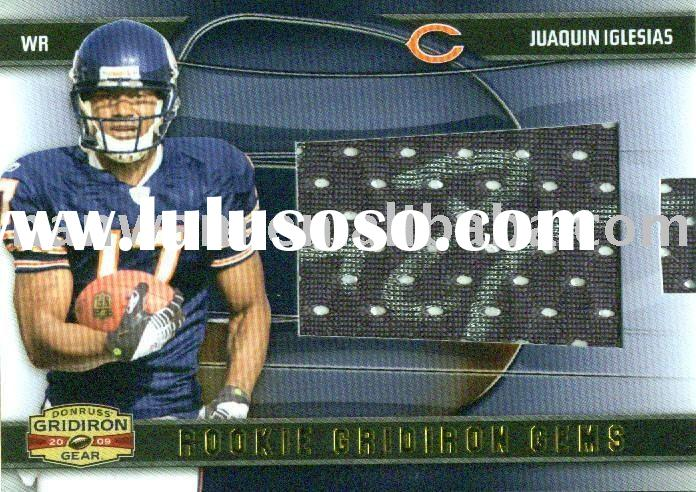 2009 sports cards Donruss Gridiron Rookie Gridiron Gems Auto 211 Juaquin Iglesias Chicago Bears Seat