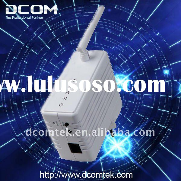200M Wallmount 802.11b/g/n 150M Wireless Powerline Ethernet Adapter Network Bridge AP(Wall plug PLC,