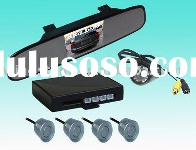 "2010 New design -reverse camera kit . reverse parking camera with 3.5"" super thin mirror"