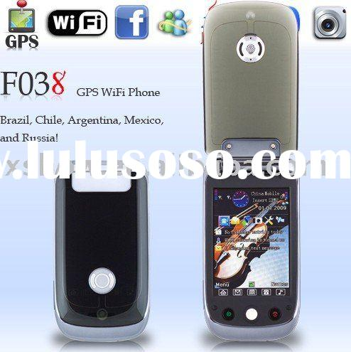 2010 new F038 GPS TV WiFi JAVA mobilephone
