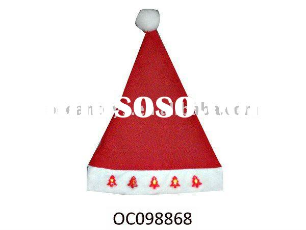 2011 Flash Christmas Hat With Light Music OC098868