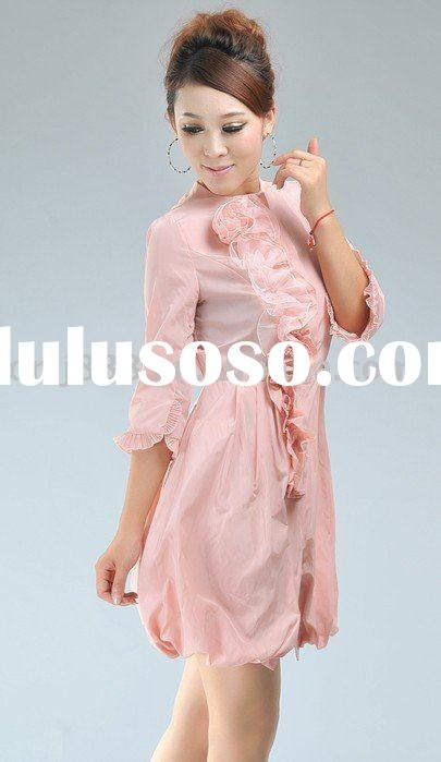 2011 Latest ladies long sleeve formal dresses