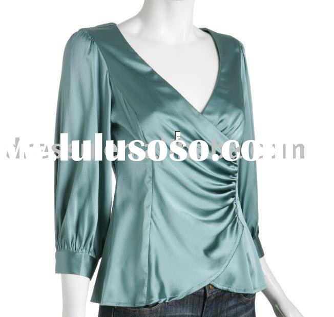 2011 New ! Hollywood Wrap blouse