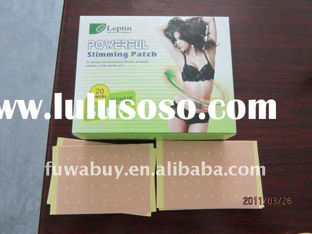 2011 New version 100% herbel leptin slimming patch,Leptin Powerful Patch