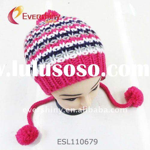 2011 fashion hot selling teenagers knitted hats