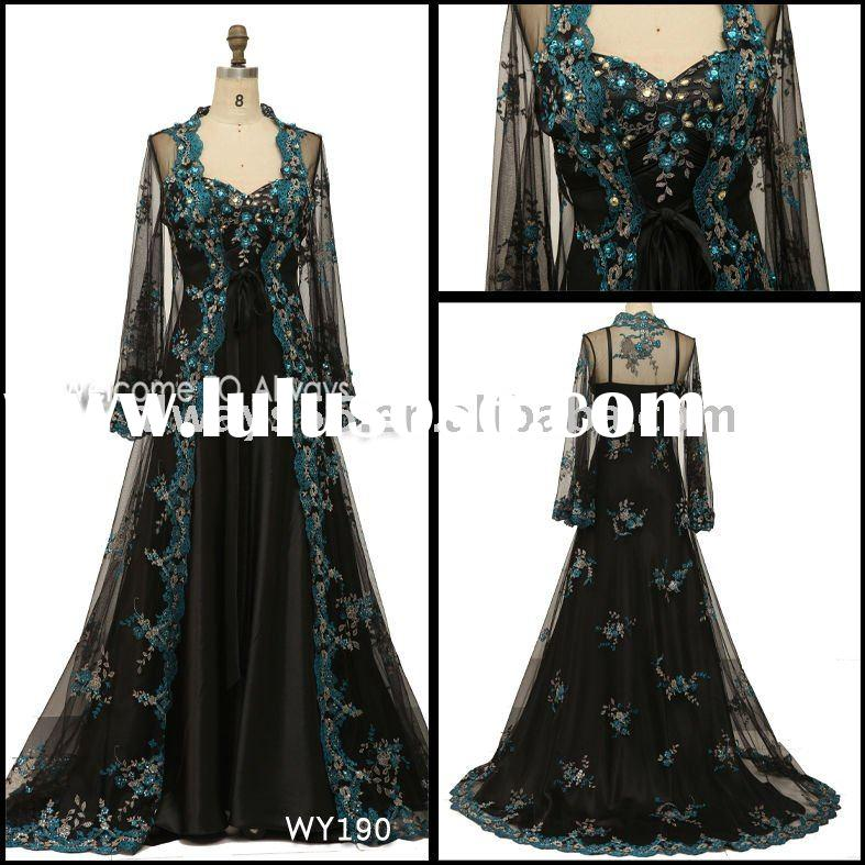 2011 hot sell indian evening dress wy190