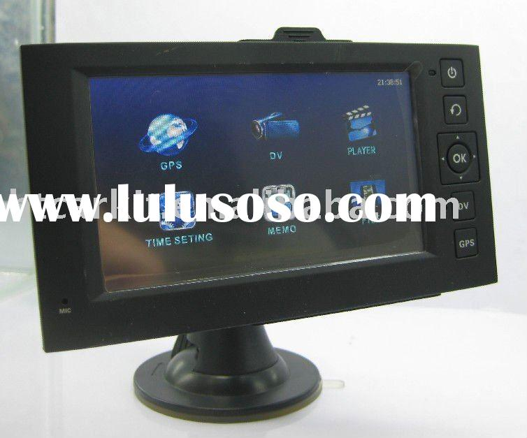 2011 new car DVR with 4.3'' GPS , 2 in 1
