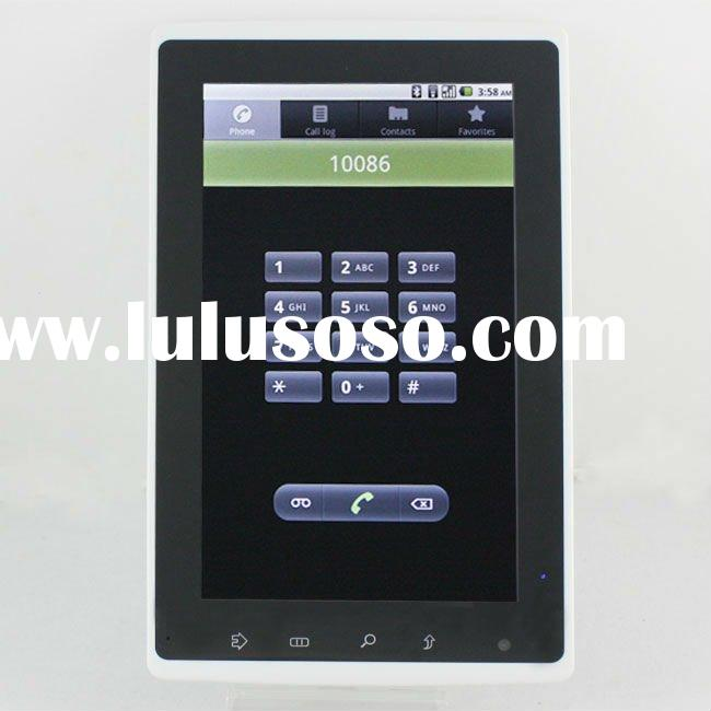 2011 shenzhen 7 inch Tablet PC 3g sim card slot renesas cortex A9 capacitive Android 2.2 Dual core C
