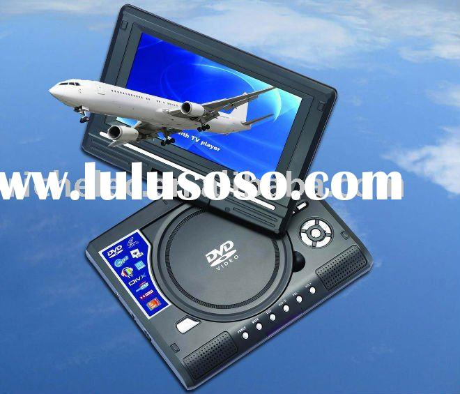 2012 9 inch Portable dvd player with Game and DVB-T and USB and Card-reader