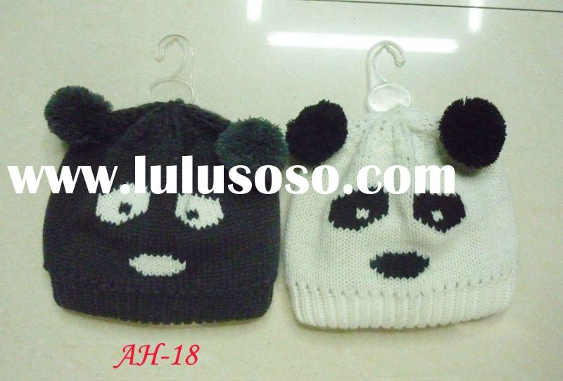 2012 fashion winter knitted animal hat