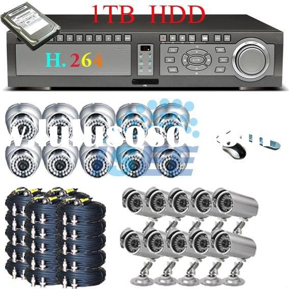 20 Camera CCTV Surveillance Security DVR System