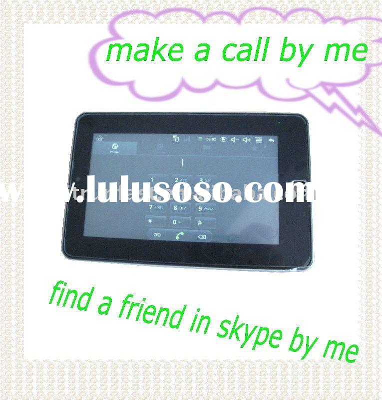 2G 3G wifi Android 2.2 tablet pc comparison